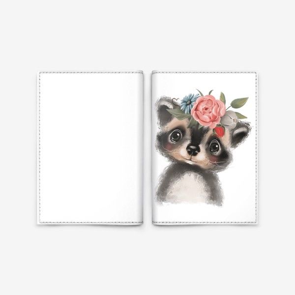 Обложка для паспорта «Крошка Енот»