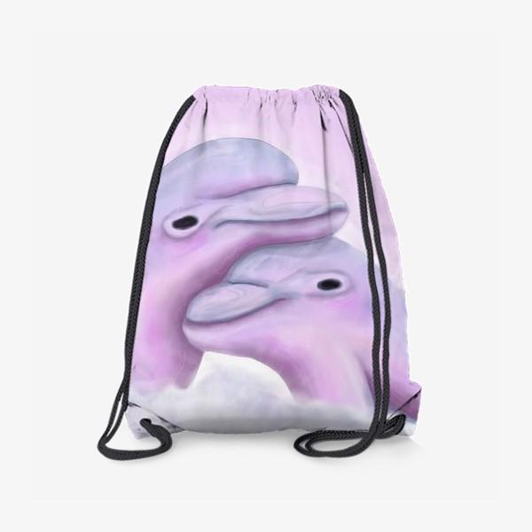 Рюкзак «Дельфины»
