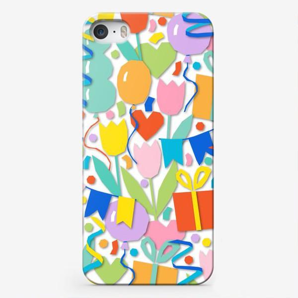 Чехол iPhone «День рождения!»