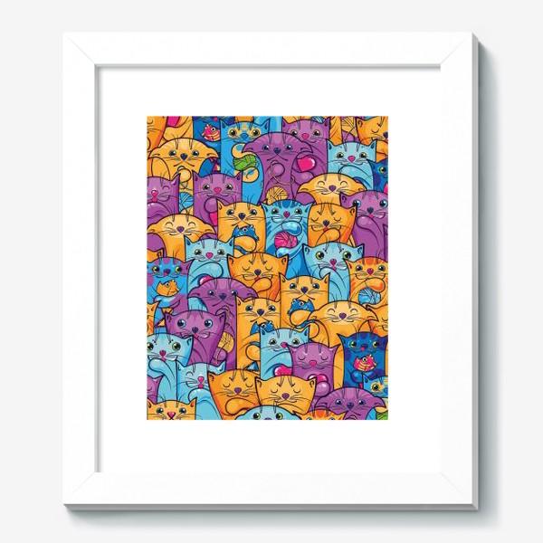 Картина «Забавные котики»