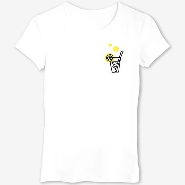 Футболка «коктейль лимонад летний напиток с лимоном»