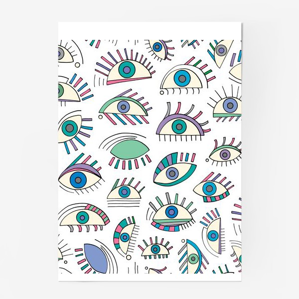 Постер «Глаза паттерн»