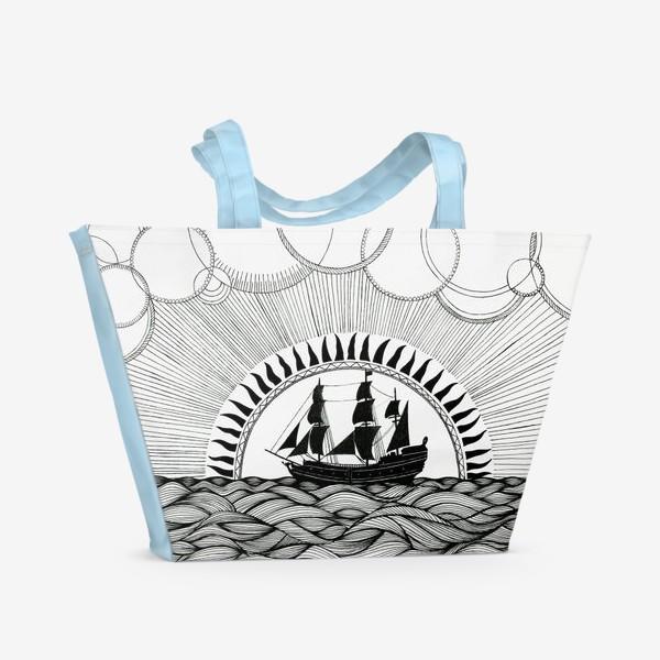 Пляжная сумка «Корабль»