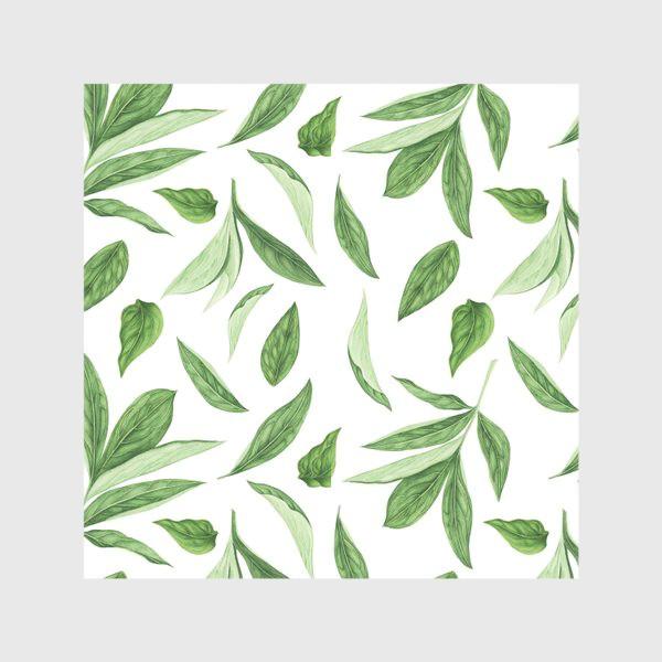 Скатерть «Листья пиона»
