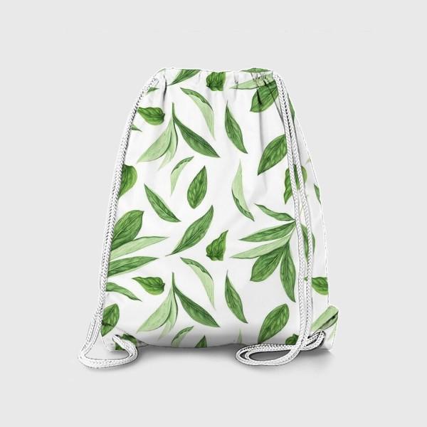 Рюкзак «Листья пиона»