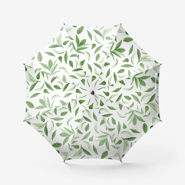 Зонт «Листья пиона»