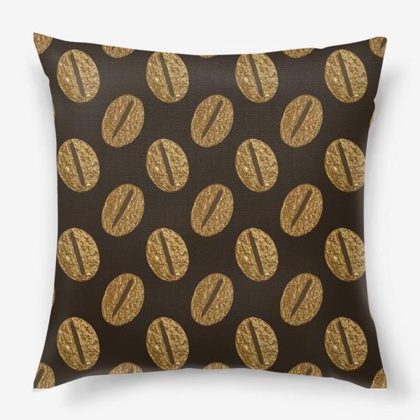 Подушка «Кофе винтаж»
