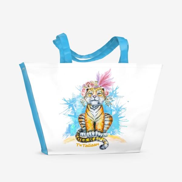 Пляжная сумка «Тайгашка»