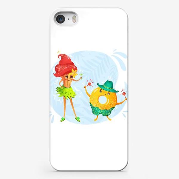 Чехол iPhone «Сладкая парочка»