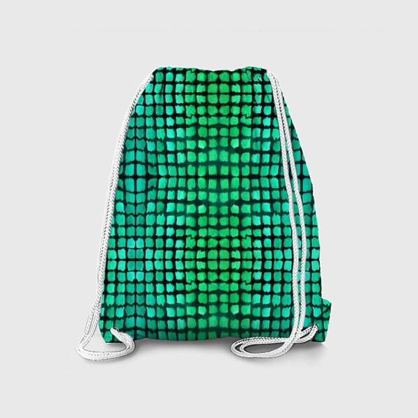 Рюкзак «малахитовый узор»