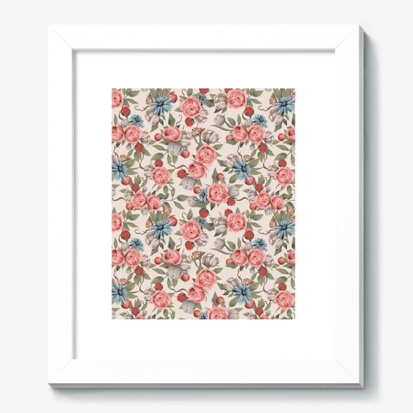 Картина «Паттерн Цветы»