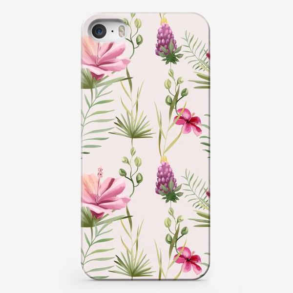 Чехол iPhone «Паттерн Тропики»