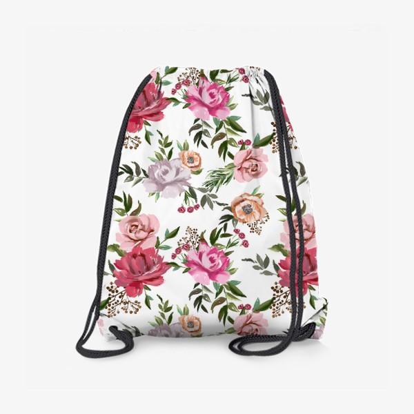 Рюкзак «Цветочный паттерн»