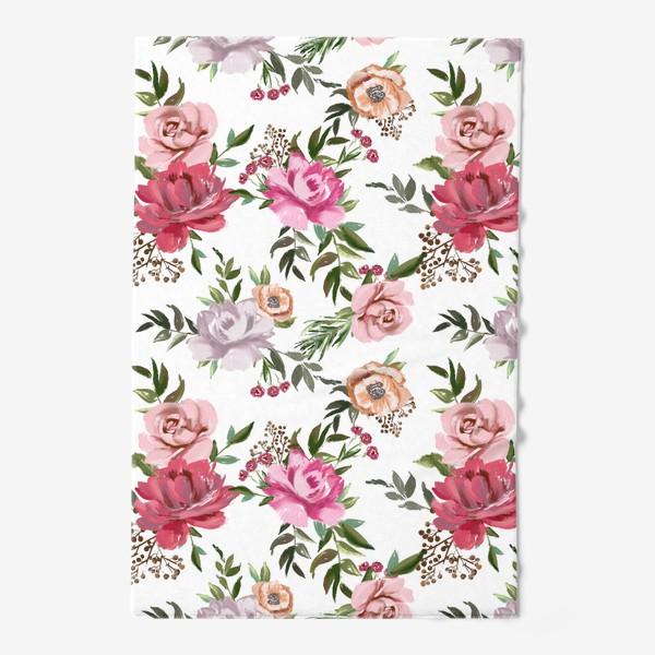Полотенце «Цветочный паттерн»