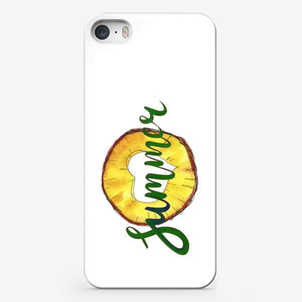Чехол iPhone «АНАНАСИК»