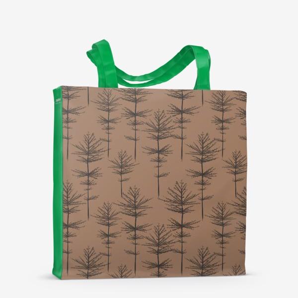 Сумка-шоппер «Паттерн Растения»