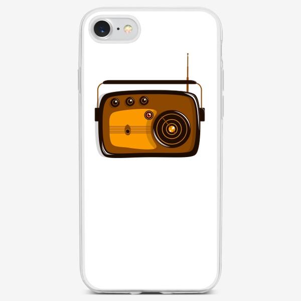 Чехол iPhone «Ретро радио»