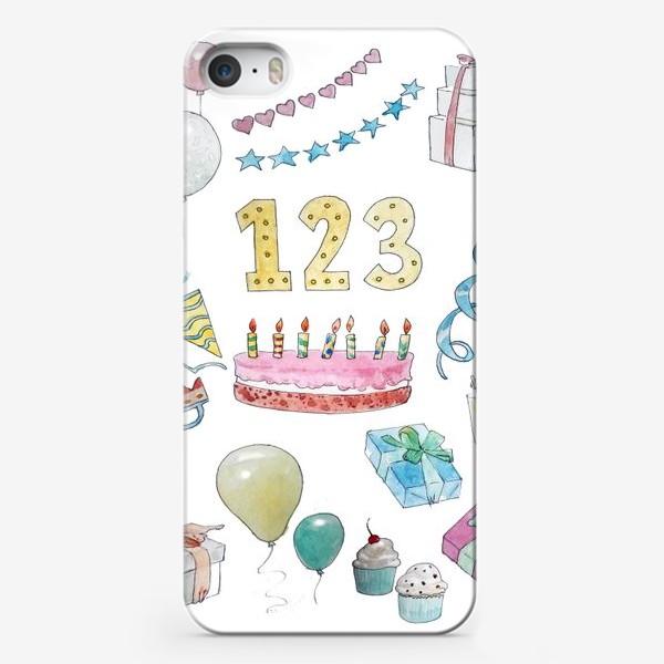 Чехол iPhone «Праздник»