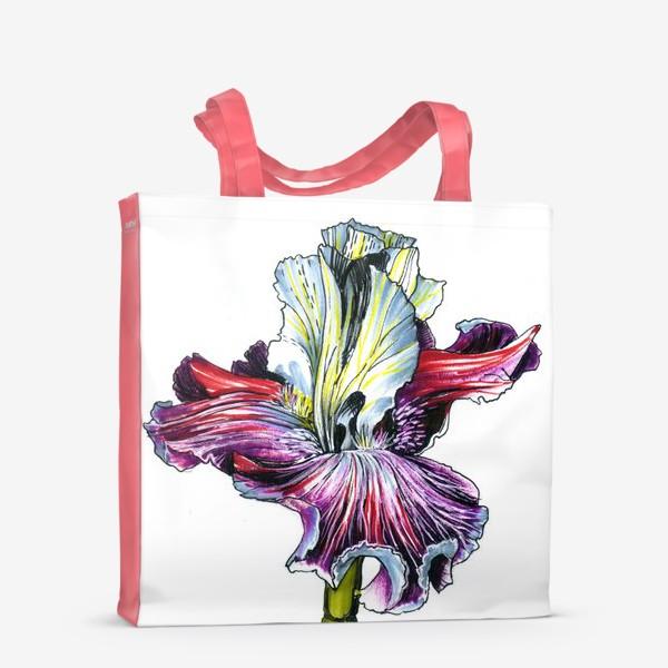 Сумка-шоппер «Декоративный ирис»
