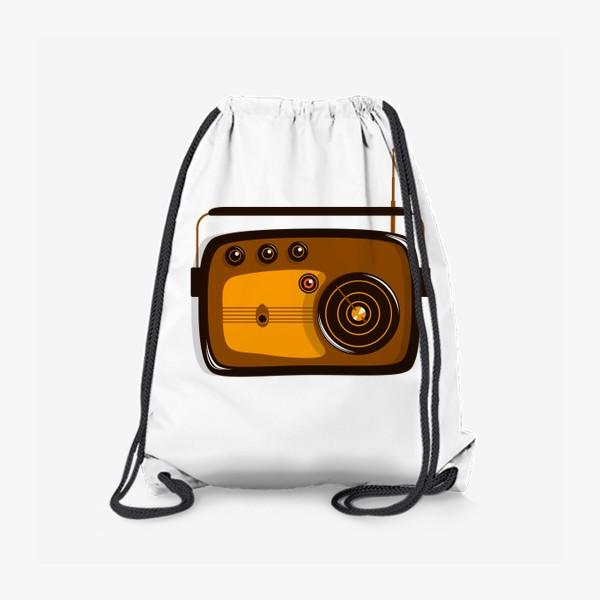 Рюкзак «Ретро радио»