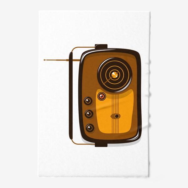 Полотенце «Ретро радио»