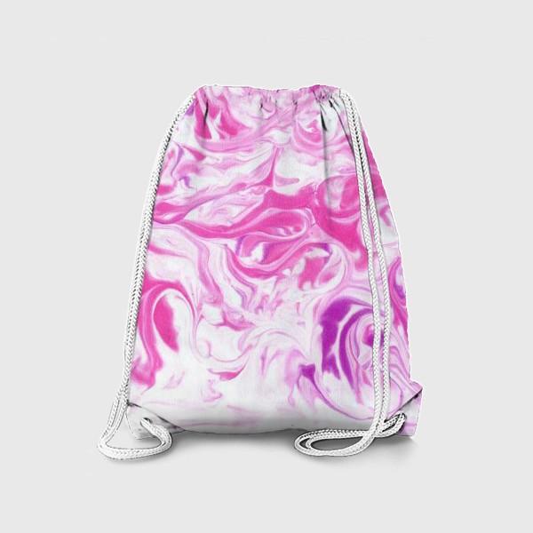 Рюкзак «Розовый мрамор»