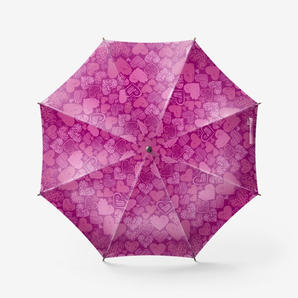 Зонт «Сердца»
