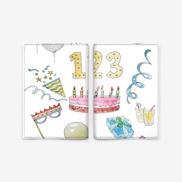 Обложка для паспорта «Праздник»
