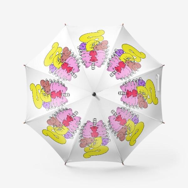 Зонт «Внутри нас - котики»