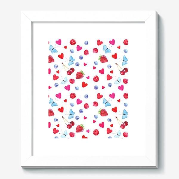 Картина «Сердечкиягодки»