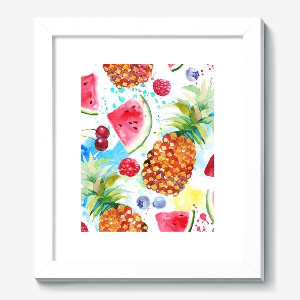 Картина «Ананасы и арбузы»
