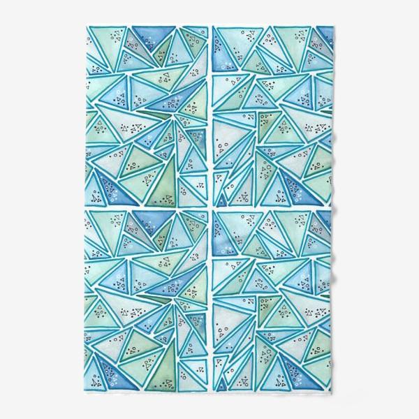 Полотенце «треугольный паттерн»