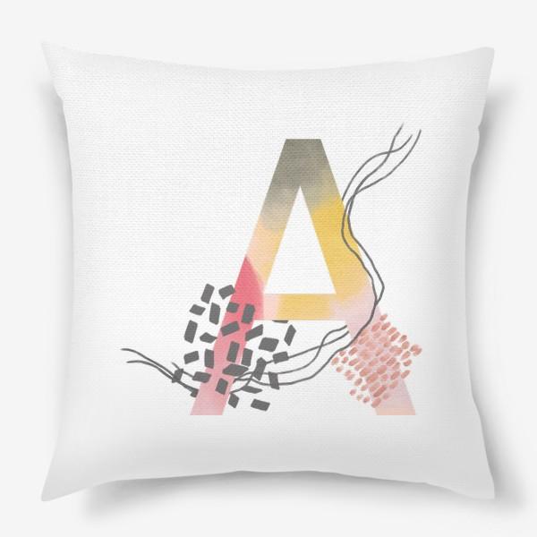 Подушка «Буква А»