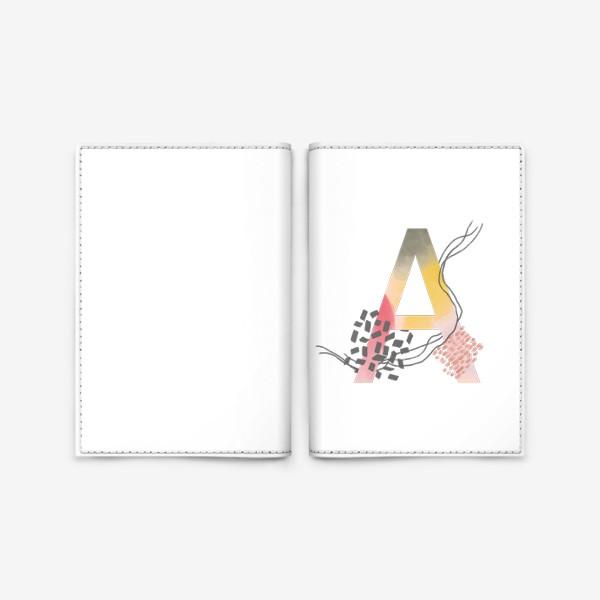 Обложка для паспорта «Буква А»