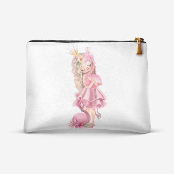 Косметичка «Принцесса с Фламинго»