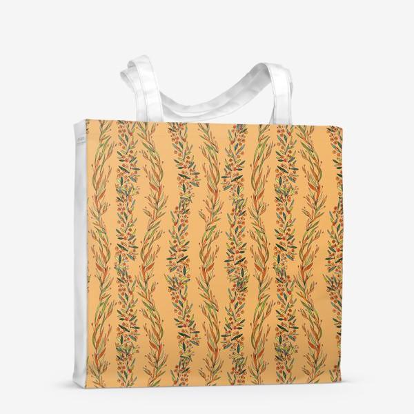 Сумка-шоппер «Оранжевое лето»