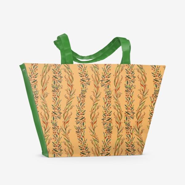 Пляжная сумка «Оранжевое лето»