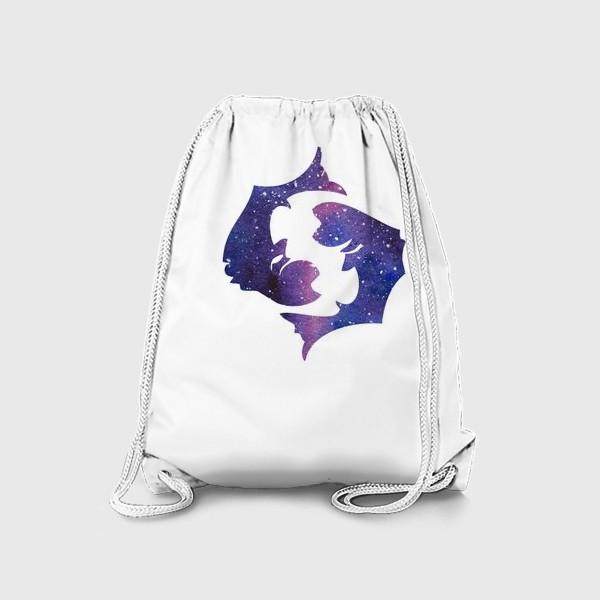 Рюкзак «Рыбы. Созвездие. Знак зодиака»