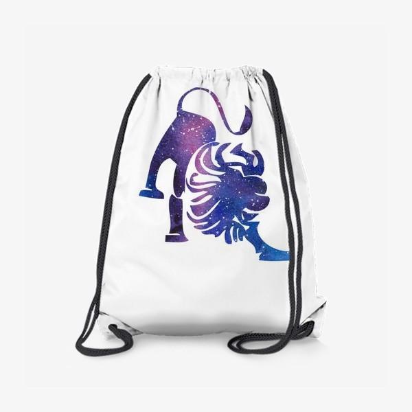 Рюкзак «Лев. Созвездие . Знак зодиака»