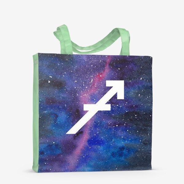 Сумка-шоппер «Стрелец. Созвездие. Знак зодиака»