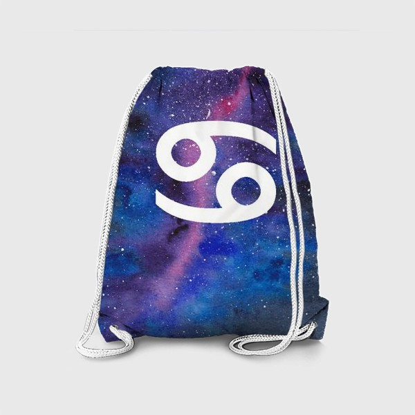 Рюкзак «Рак. Созвездие. Знак зодиака»