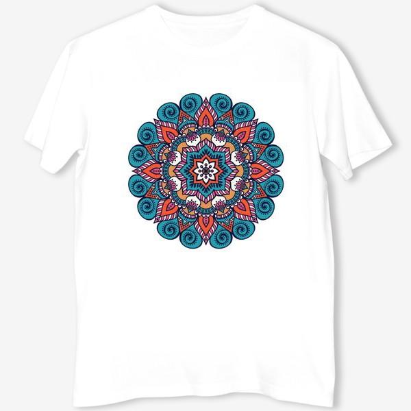 Футболка «Blue Mandala »