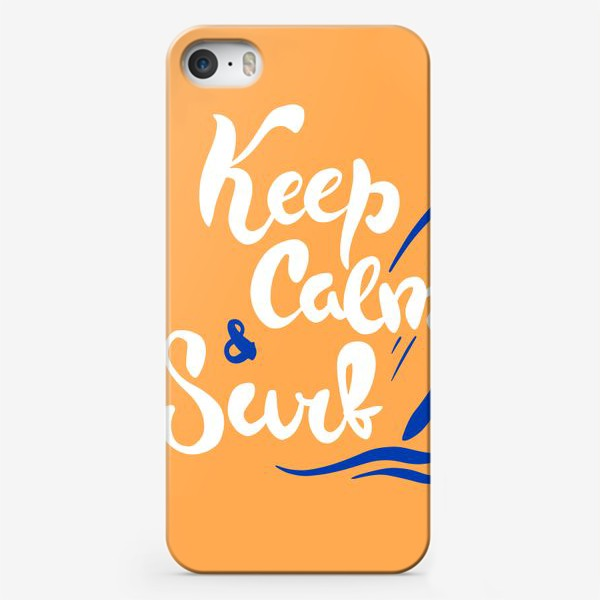 Чехол iPhone «Серфинг принт»