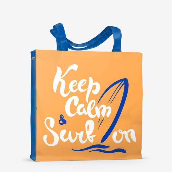 Сумка-шоппер «Серфинг принт»