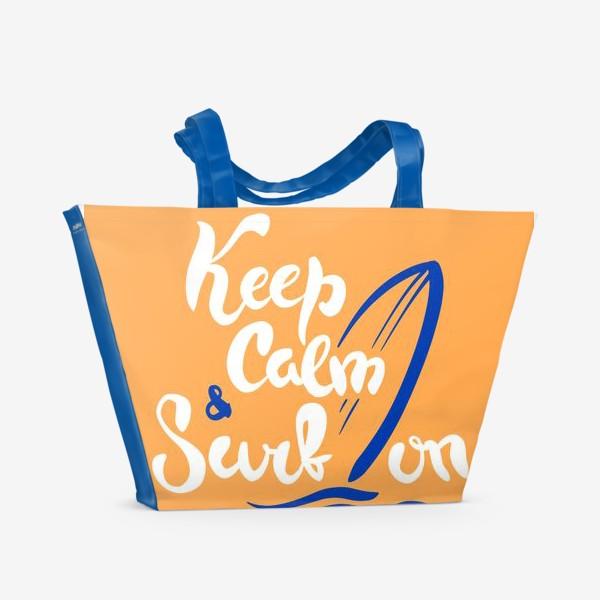 Пляжная сумка «Серфинг принт»