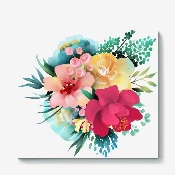 Холст «Цветы»