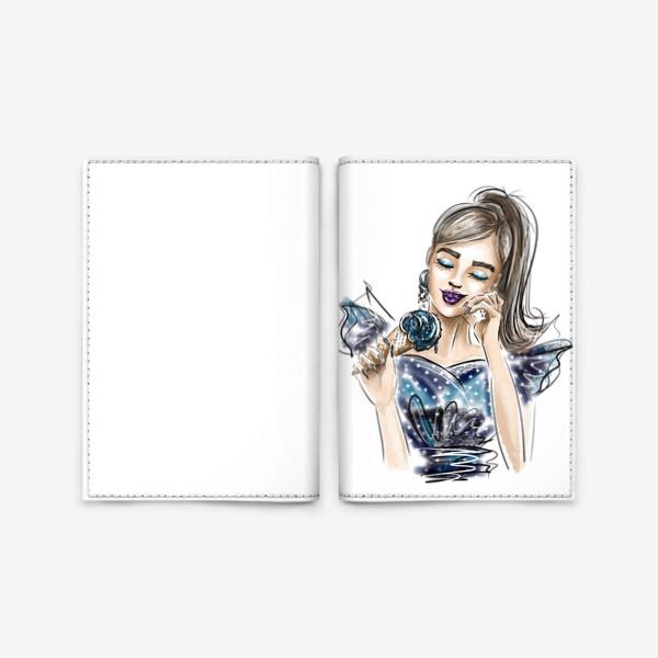 Обложка для паспорта «Galaxy»