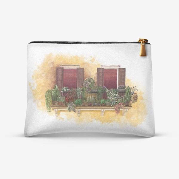 Косметичка «Уютные окна Италии.»