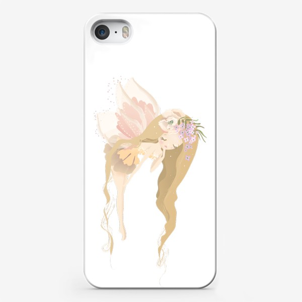 Чехол iPhone «Цветочная фея»