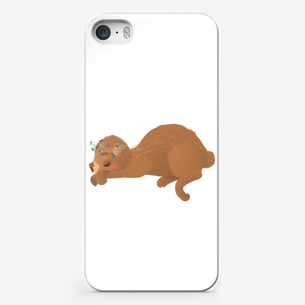 Чехол iPhone «Сплюшка Соня»